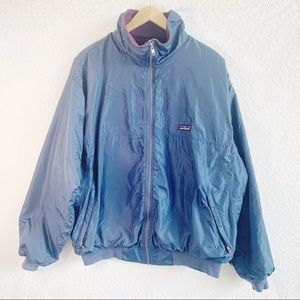 Patagonia MENS XL Navy Blue Fleece Lined  Jacket.